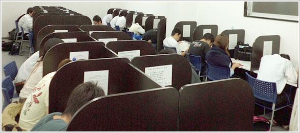 23:00まで利用できる自習室
